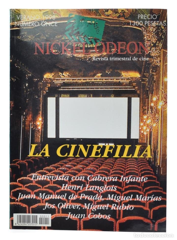 NICKEL ODEON. REVISTA TRIMESTRAL DE CINE, N.º 11. MONOGRÁFICO: LA CINEFILIA. NUEVO (Cine - Revistas - Nickel Odeon)
