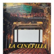 Cine: NICKEL ODEON. REVISTA TRIMESTRAL DE CINE, N.º 11. MONOGRÁFICO: LA CINEFILIA. NUEVO. Lote 217811278