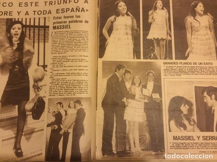 Cine: CINE EN 7 DIAS Nº 366 ABRIL 1968 MASIEL FESTIVAL EUROVISION MARISOL REINAS DEL CINE ESPAÑOL - Foto 2 - 217864861