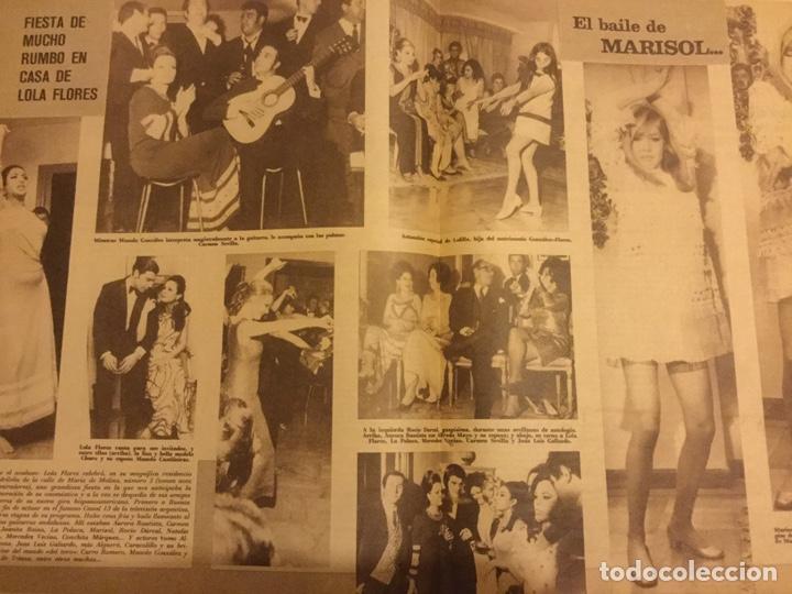 Cine: CINE EN 7 DIAS Nº 366 ABRIL 1968 MASIEL FESTIVAL EUROVISION MARISOL REINAS DEL CINE ESPAÑOL - Foto 3 - 217864861