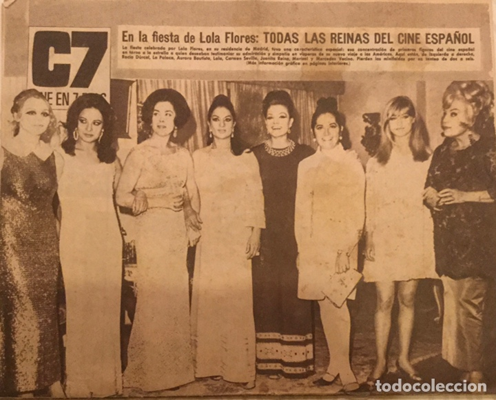Cine: CINE EN 7 DIAS Nº 366 ABRIL 1968 MASIEL FESTIVAL EUROVISION MARISOL REINAS DEL CINE ESPAÑOL - Foto 4 - 217864861