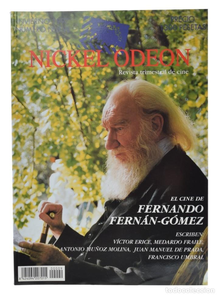 NICKEL ODEON. REVISTA TRIMESTRAL DE CINE, N.º 9. MONOGRÁFICO: FERNANDO FERNÁN-GÓMEZ. NUEVO (Cine - Revistas - Nickel Odeon)