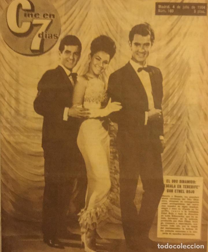 CINE EN 7 DIAS Nº 169 JULIO 1964 DUO DINAMICO (Cine - Revistas - Cine en 7 dias)