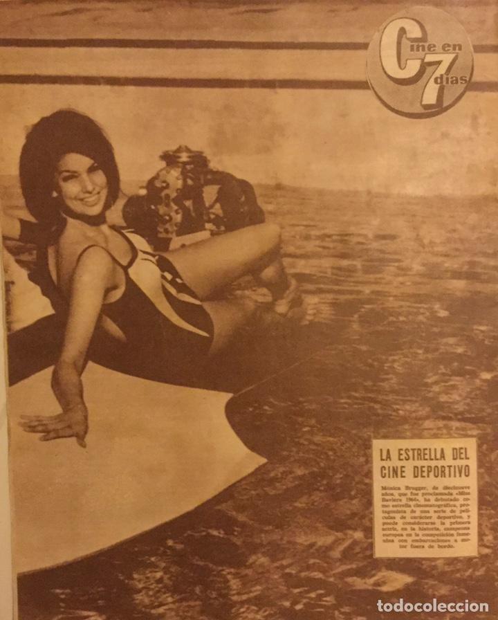 Cine: CINE EN 7 DIAS Nº 172 JULIO 1964 ANITA EKBERG - Foto 4 - 217890842