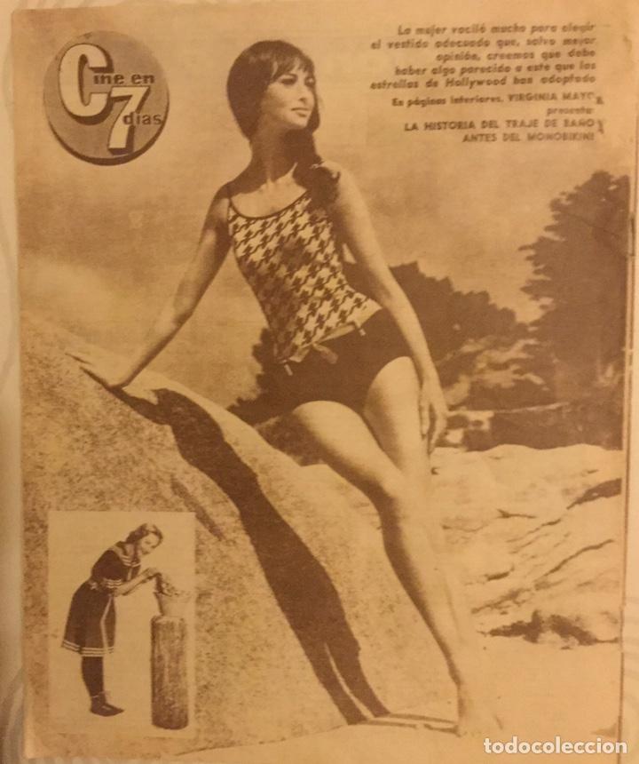 Cine: CINE EN 7 DIAS Nº 175 AGOSTO 1964 JANE FONDA - Foto 2 - 217890961