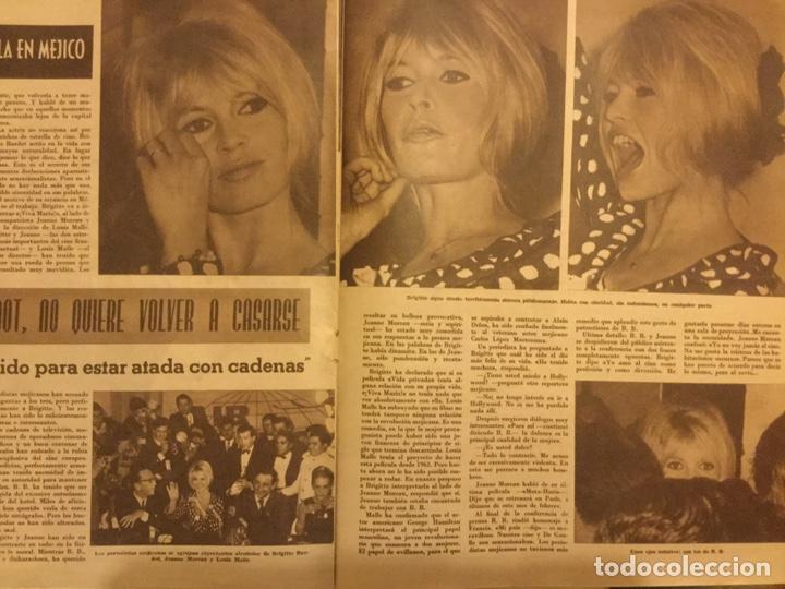 Cine: CINE EN 7 DIAS Nº 200 FEBRERO 1965 URSULA ANDREWS - Foto 2 - 217892085