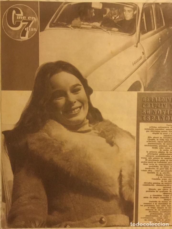 Cine: CINE EN 7 DIAS Nº 200 FEBRERO 1965 URSULA ANDREWS - Foto 3 - 217892085