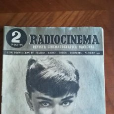 Cinema: RADIOCINEMA REVISTA CINEMATOGRÁFICA NACIONAL. Lote 217940732