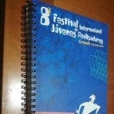 Cine: 8 FESTIVAL INTERNACIONAL DE JÓVENES REALIZADORES. 2001. CATÁLOGO. BUEN ESTADO. DIFICIL. CINE. Lote 217958291
