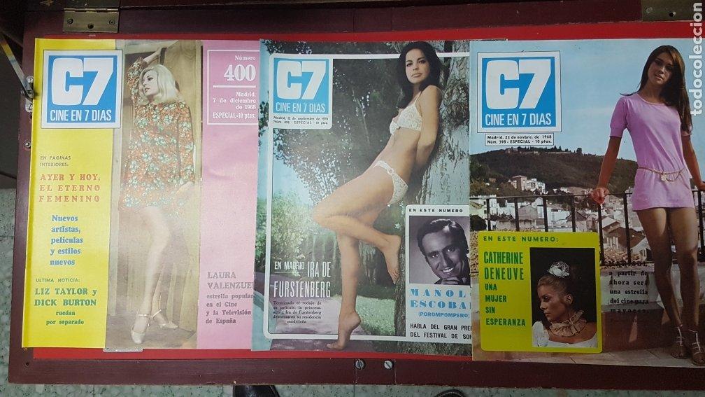 Cine: Lote revistas cine en 7 días C7 - Foto 5 - 218084081