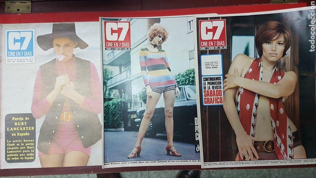Cine: Lote revistas cine en 7 días C7 - Foto 7 - 218084081