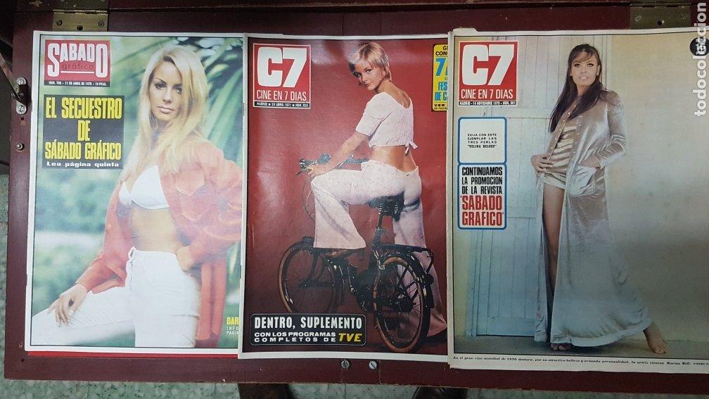 Cine: Lote revistas cine en 7 días C7 - Foto 8 - 218084081