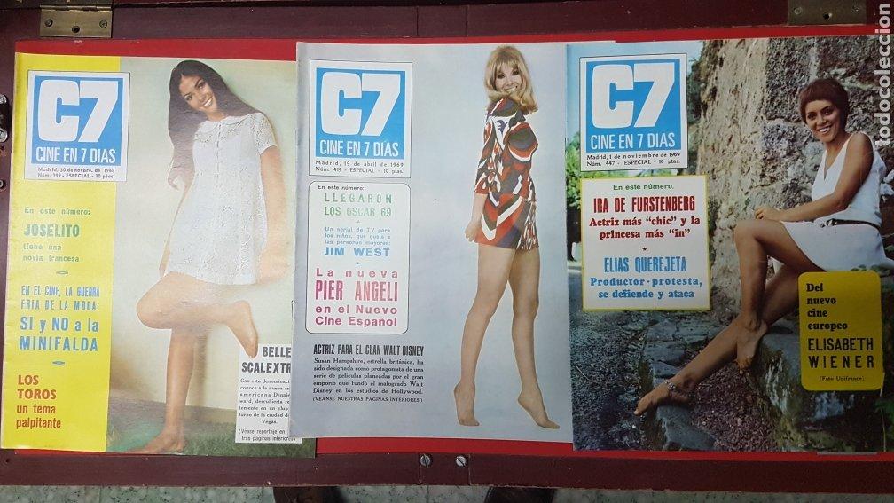 Cine: Lote revistas cine en 7 días C7 - Foto 9 - 218084081