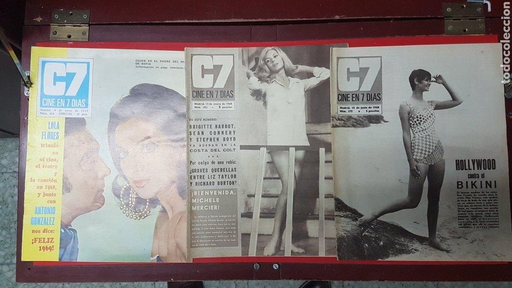 Cine: Lote revistas cine en 7 días C7 - Foto 10 - 218084081