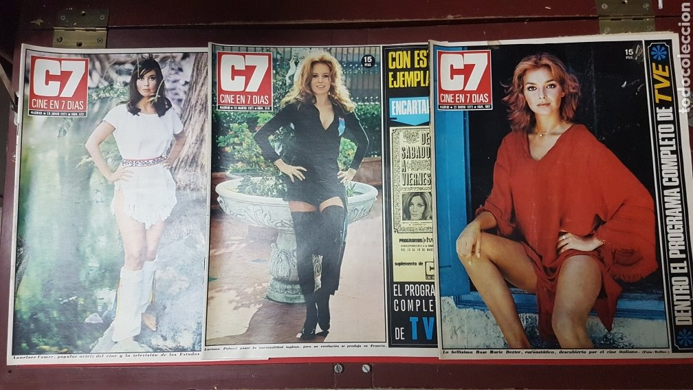LOTE REVISTAS CINE EN 7 DÍAS C7 (Cine - Revistas - Cine en 7 dias)