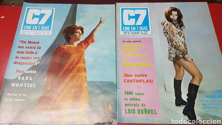 REVISTAS SARA MONTIEL (Cine - Revistas - Cine en 7 dias)