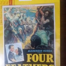 Cine: FOUR FEATHERS. Lote 218149828