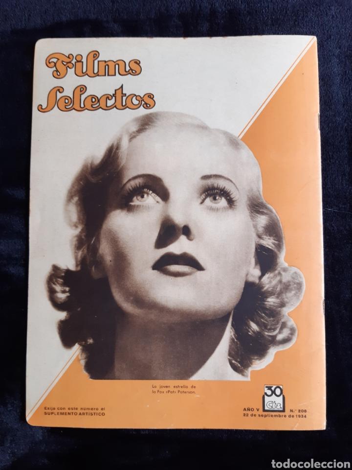 Cine: Revista Films Selectos con portada de la actriz Jeannette Mac Donald de 1934. - Foto 2 - 218233090