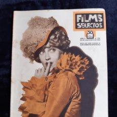Cine: REVISTA FILMS SELECTOS CON PORTADA DE LA ACTRIZ JEANNETTE MAC DONALD DE 1934.. Lote 218233090