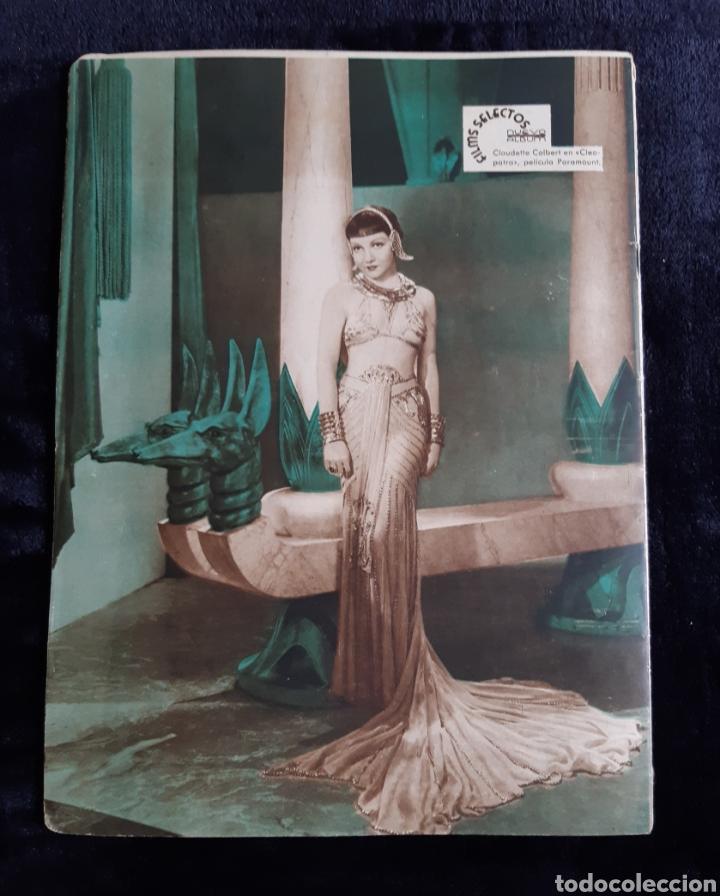 Cine: Revista Flims Selectos con portada de Jane Cornell de 1934. - Foto 2 - 218235201