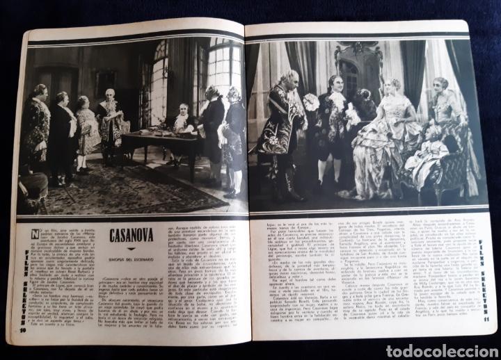 Cine: Revista Flims Selectos con portada de Enrico Caruso y Mona Maris de 1934. - Foto 3 - 218235815