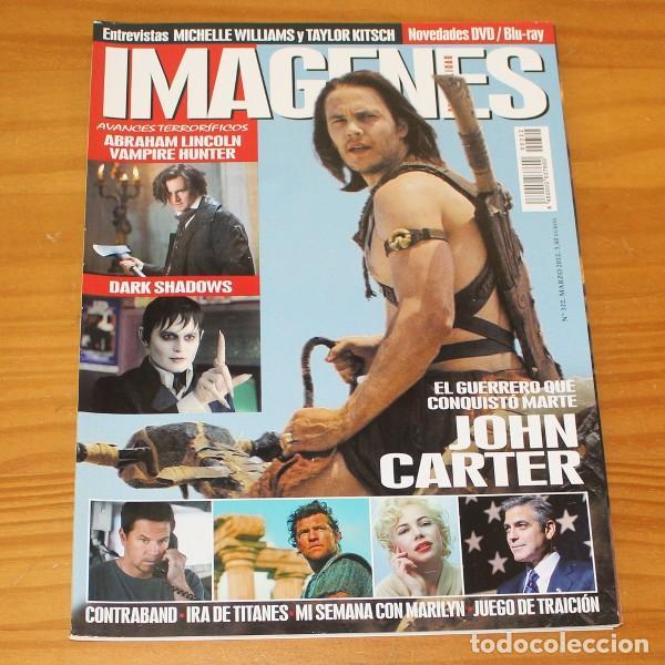 IMAGENES DE ACTUALIDAD 322 MARZO 2012. JOHN CARTER DE MARTE, DARK SHADOWS, MICHELLE WILLIAMS... (Cine - Revistas - Imágenes de la actualidad)