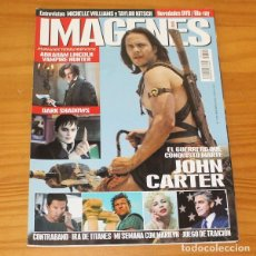 Cine: IMAGENES DE ACTUALIDAD 322 MARZO 2012. JOHN CARTER DE MARTE, DARK SHADOWS, MICHELLE WILLIAMS.... Lote 218260922