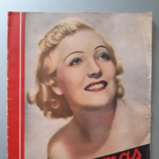 Cine: REVISTA CINEGRAMAS CON PORTADA DE MARTA EGGRTH DE 1936.. Lote 218274080