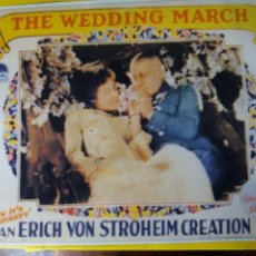 Cine: THE WEDDING MARCH. Lote 218275210