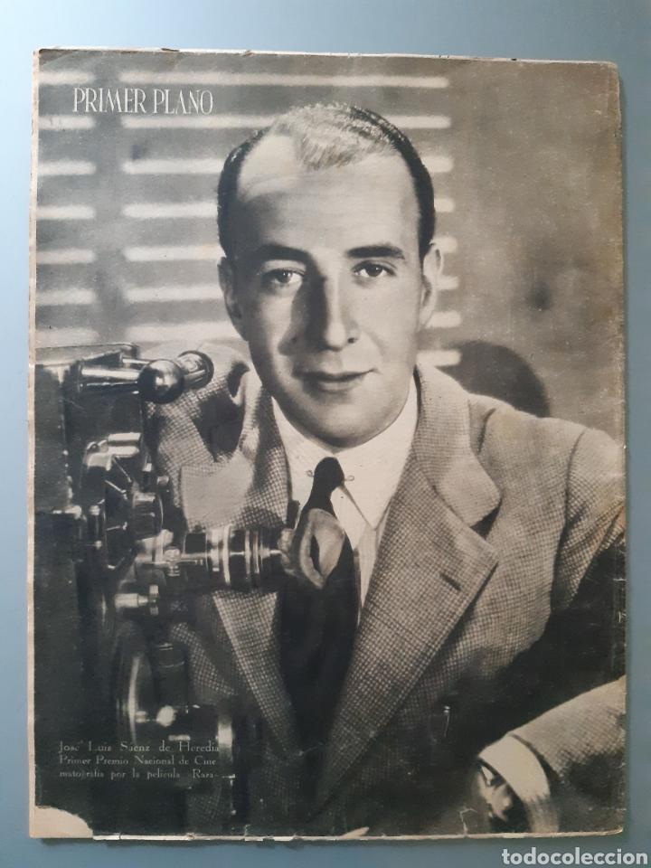 Cine: Revista Primer Plano con portada de Mari Carrillo de 1942. - Foto 2 - 218279902