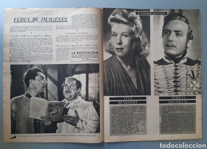 Cine: Revista Primer Plano con portada de Mari Carrillo de 1942. - Foto 3 - 218279902