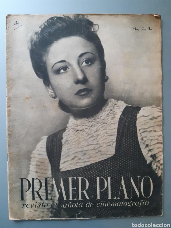 REVISTA PRIMER PLANO CON PORTADA DE MARI CARRILLO DE 1942. (Cine - Revistas - Primer plano)