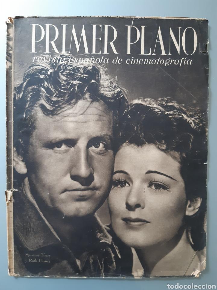 REVISTA PRIMER PLANO CON LA PORTADA DE SPENCER TRACY DE 1941. (Cine - Revistas - Primer plano)