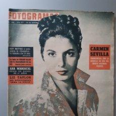 Cinéma: REVISTA FOTOGRAMAS CON PORTADA DE ELANA EDEN DE 1960.. Lote 218281862