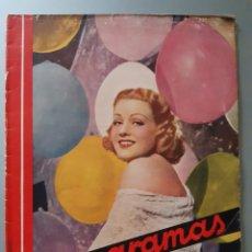 Cine: REVISTA CINEGRAMAS CON PORTADA DE GRACE BRADLEY 1936 .. Lote 218282797