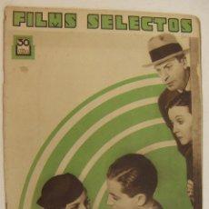Cine: REVISTA CINE FILMS SELECTOS. Nº 191 9 JUNIO 1934. AÑO V.. Lote 218364166