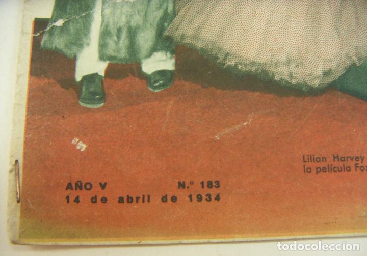 Cine: REVISTA FILMS SELECTOS. AÑO V. Nº 183. 14 DE ABRIL DE 1934 - Foto 2 - 218364377