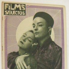 Cine: REVISTA FILMS SELECTOS. AÑO IV. Nº 129. 1 DE ABRIL DE 1933. Lote 218364985
