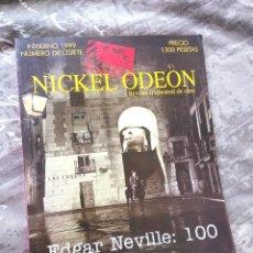 Cine: NICKEL ODEON Nº 17. EDGAR NEVILLE: 100. INVIERNO 1999.. Lote 218391535