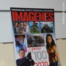 Cine: REVISTA CINE IMAGENES DE ACTUALIDAD Nº 408 ENERO 2020. Lote 218427268