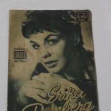 Cine: COLECCIÓN IDOLOS DEL CINE Nº 43 ERIKA REMBERG AÑO 1958. Lote 218445380