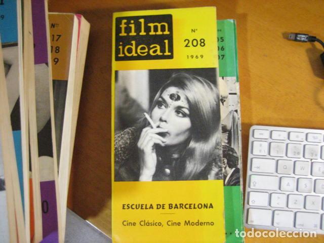 REVISTA DE CINE. FILM IDEAL. Nº 208. ** AÑO 1969. 216 P. 25X12 CMS (Cine - Revistas - Film Ideal)