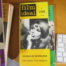 Cine: REVISTA DE CINE. FILM IDEAL. Nº 208. ** AÑO 1969. 216 P. 25X12 CMS. Lote 218473608