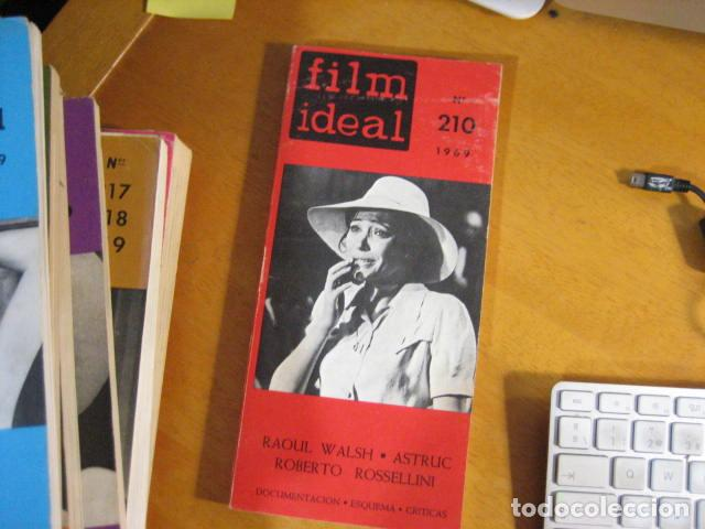 REVISTA DE CINE. REVISTA FILM IDEAL Nº 210. 1969 RAOUL WALSH ASTRUC ROSSELLINI (Cine - Revistas - Film Ideal)