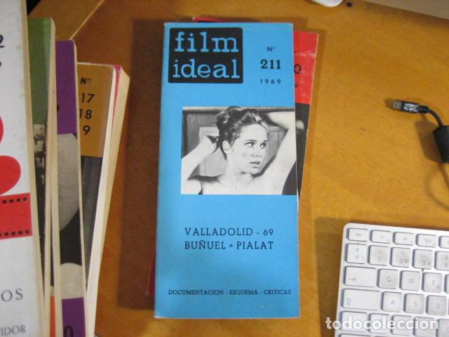 FILM IDEAL Nº 211. VALLADOLID-69. BUÑUEK. PIALAT. DOCUMENTACIÓN. ESQUEMA. CRITICAS (1969) (Cine - Revistas - Film Ideal)