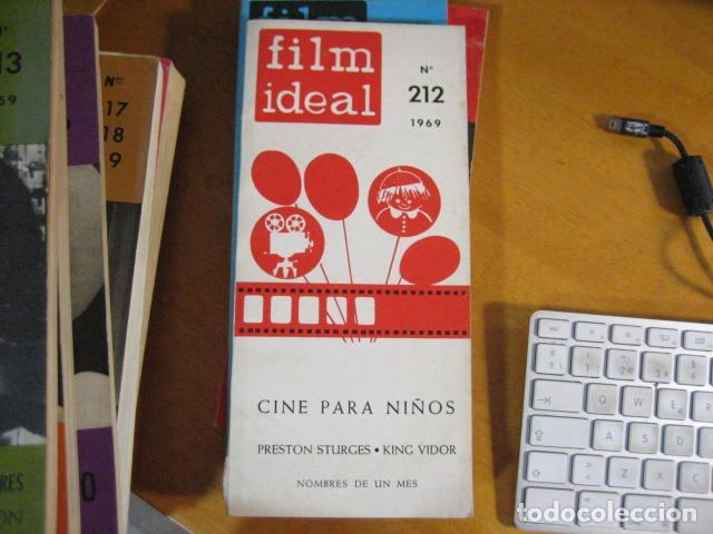 FILM IDEAL Nº 212 AÑO 1969 - ESPECIAL CINE PARA NIÑOS- 208 PAGINAS PRISTON STURGES KING VIDOR (Cine - Revistas - Film Ideal)