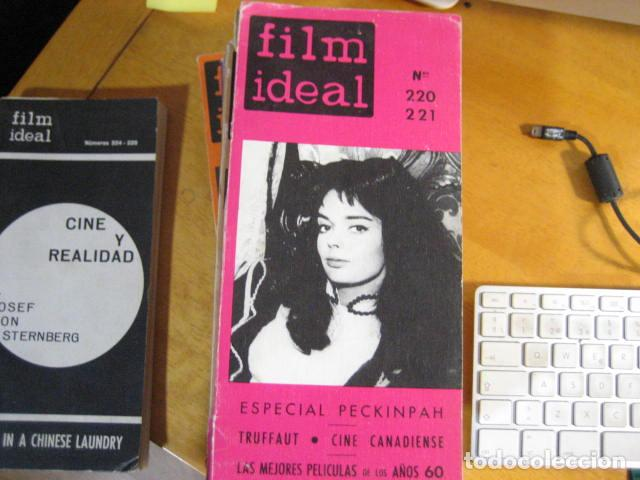 Cine: FILM IDEAL NUMERO 220-221 (1970) ESPECIAL SAM PECKINPAH. PORTADA: BARBARA STEELE - Foto 1 - 218474717