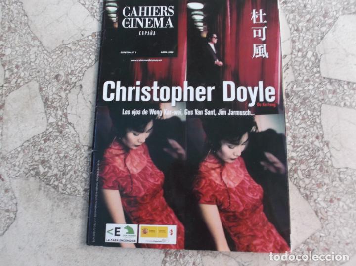 CAHIERS DE CINEMA ESPECIAL Nº 2 ,2008, CHRISTOPHER DOYLE, (Cine - Revistas - Otros)