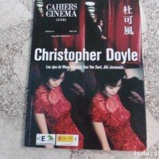 Cinéma: CAHIERS DE CINEMA ESPECIAL Nº 2 ,2008, CHRISTOPHER DOYLE,. Lote 218482616
