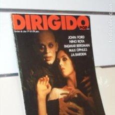 Cine: REVISTA CINE DIRIGIDO POR Nº 63 JOHN FORD (1).... Lote 218524253
